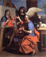St. Luke, by Guercino