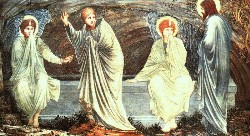Sir Edward Coley Burne-Jones: The Morning of the Resurrection