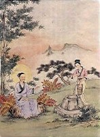 Chinese Bible Paintings: Samaritan Woman